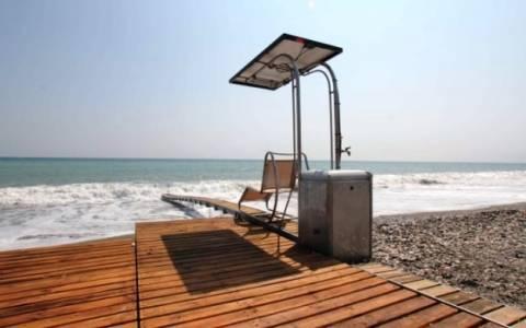 Στην Ιεράπετρα η πρώτη παραλία για ΑμΕΑ