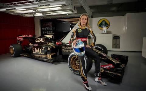 F1: Carmen Jorda οδηγός δοκιμών ή δημοσίων σχέσεων στη Lotus;