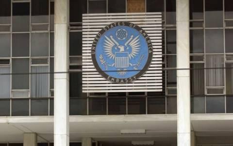 Έληξε ο συναγερμός για το ύποπτο δέμα έξω από την Πρεσβεία των ΗΠΑ