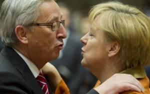 Ουκρανία και Ελλάδα στο μενού της συνάντησης Γιούνκερ- Μέρκελ
