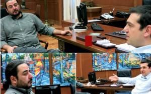 Συνάντηση Τσίπρα με το νέο Γραμματέα του ΣΥΡΙΖΑ