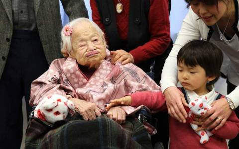 Η γηραιότερη γυναίκα του πλανήτη έγινε 117 ετών