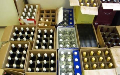 Βόλος: Εντοπίστηκε μεγάλη ποσότητα λαθραίων ποτών
