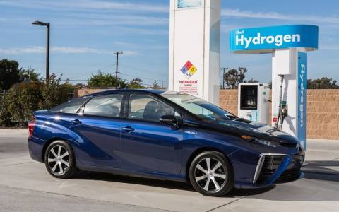 Toyota: Mirai Fuel Cell Sedan