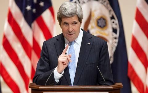 Κέρι: Η Ουάσινγκτον δεν υποκύπτει σε απειλές