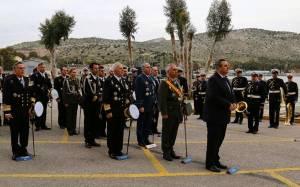 Καμμένος: Στη τελετή παράδοσης-παραλαβής Αρχηγού Στόλου (pics)