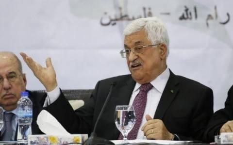 Οι Παλαιστίνιοι ηγέτες διέκοψαν καθε συντονισμό με το Ισραήλ στο πεδίο της ασφάλειας