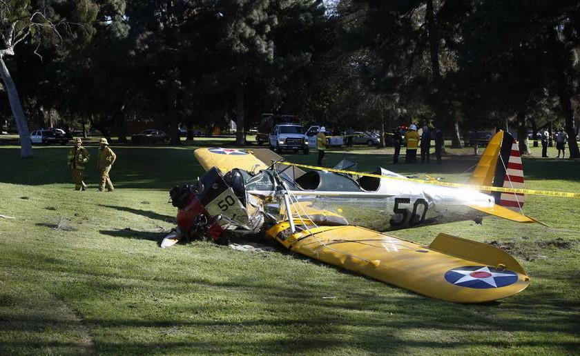 Στον νοσοκομείο ο Χάρισον Φορντ – Είχε πτώση με μικρό αεροπλάνο (pics)