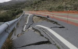 Κρήτη: Ανησυχία για την καθίζηση στη Βιάννο