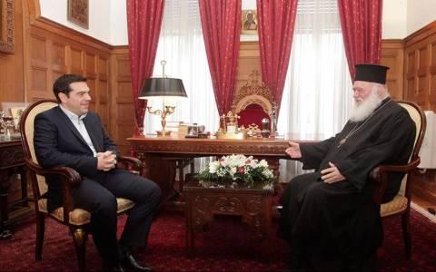 Συνάντηση του Αρχιεπίσκοπου με τον Αλέξη Τσίπρα