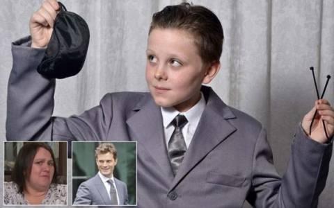 Βρετανία: 11χρονος πήγε σε σχολική γιορτή ντυμένος... «50 αποχρώσεις του γκρι»