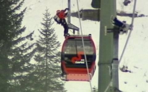 Ιταλία: Δραματική διάσωση 200 τουριστών σε χιονοδρομικό κέντρο (video)