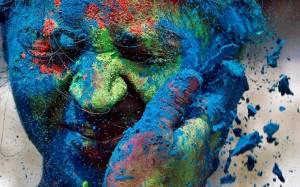 Holi Festival στην Ινδία με πολύ πολύ χρώμα (photos)