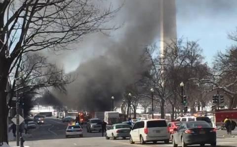 ΗΠΑ: Λήξη συναγερμού στο Λευκό Οίκο - Από πού προήλθε ο ισχυρός κρότος (video)