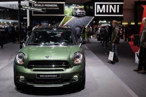 MINI: Στο 85ο Διεθνές Σαλόνι Αυτοκινήτου της Γενεύης 2015