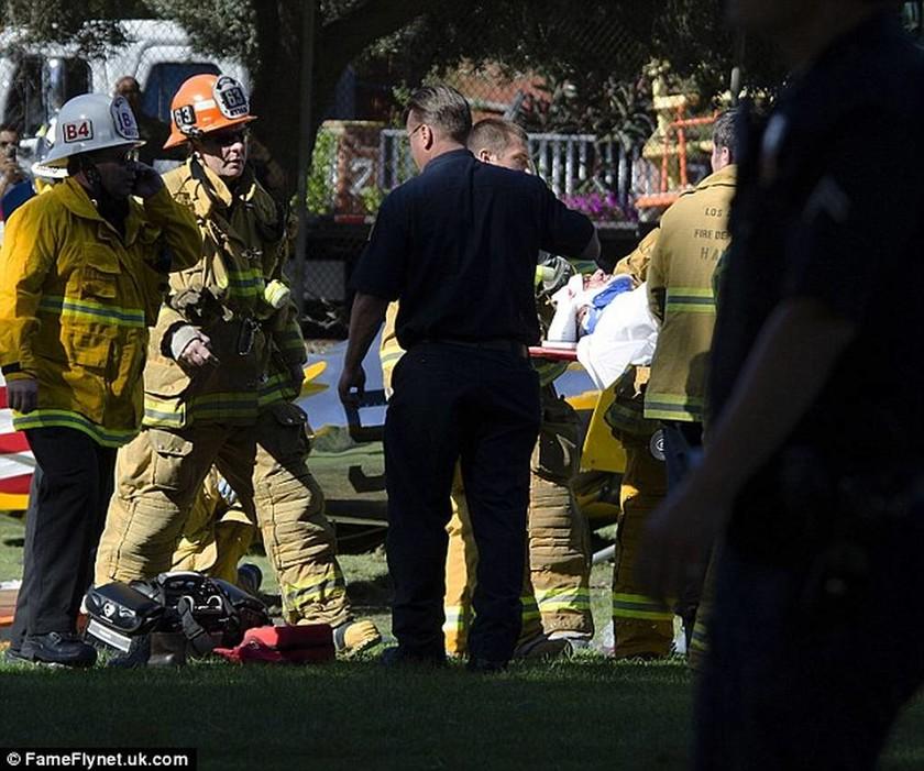 Ο Χάρισον Φορντ λίγα λεπτά μετά το αεροπορικό ατύχημα (pics)