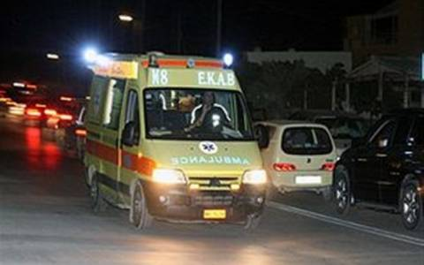 Σοβαρά τραυματίας σε τροχαίο στην παλαιά εθνική οδό Αθήνας - Θεσσαλονίκης