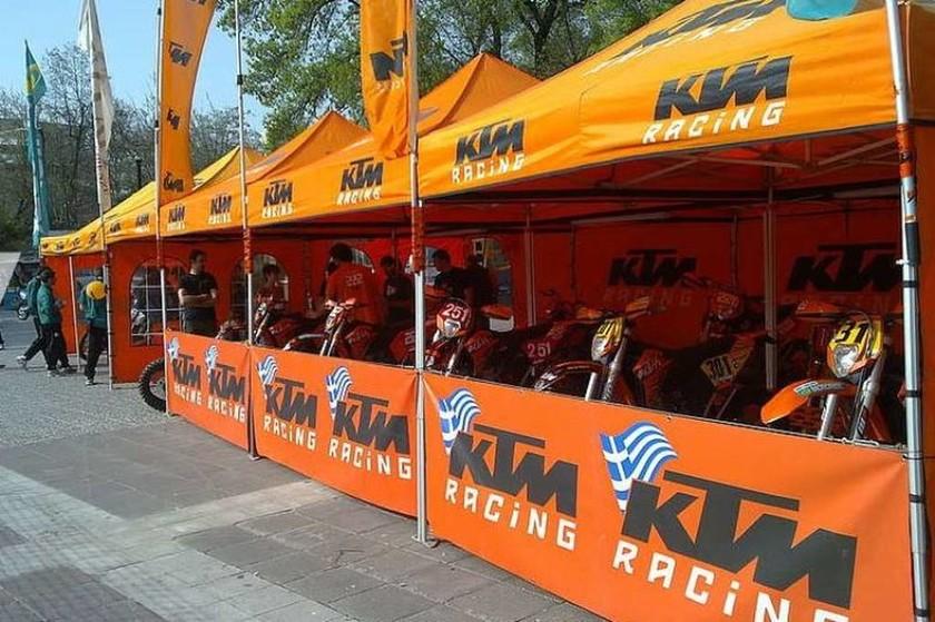 KTM: Αγωνιστικές Ομάδες και το Support Team για τα Παν. Πρωταθλήματα MX και ENDURO