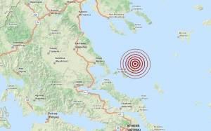 Σεισμός 3,5 Ρίχτερ βόρεια της Αλοννήσου