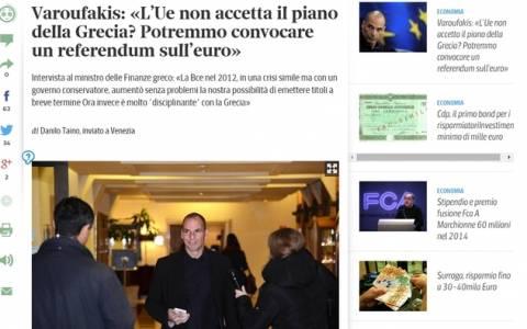 Η Corriere della Sera επιμένει και δεν επανορθώνει