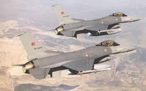 Σωρεία παραβιάσεων του εθνικού εναέριου χώρου από τουρκικά μαχητικά