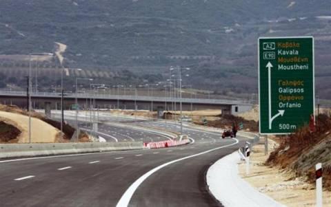 Κλειστό για ένα 24ωρο ακόμα το τμήμα της Εγνατίας οδού που παρακάμπτει την Καβάλα