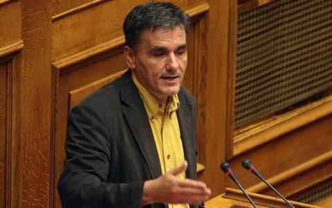 Τσακαλώτος: Ενδεχόμενο Grexit θα κλονίσει την αξιοπιστία του ευρώ