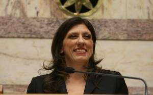 Στο υπουργείο Εθνικής Άμυνας η Ζωή Κωνσταντοπούλου
