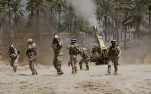 Ιρακινοί στρατιώτες και πολιτοφυλακή ανέκτησαν πόλη κοντά στο Τικρίτ