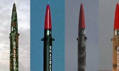 Εκτόξευση πακιστανικού βαλλιστικού πυραύλου Shaheen-3 στο Ινδικό Ωκεανό