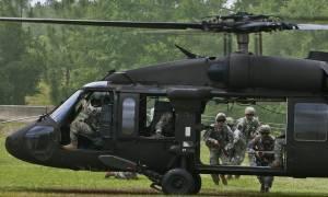 ΗΠΑ: Συντριβή στρατιωτικού ελικοπτέρου - 11 αγνοούμενοι