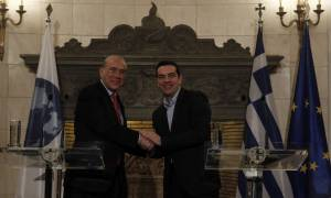 Υπογραφή συμφωνίας Τσίπρα-Γκουρία στον ΟΟΣΑ