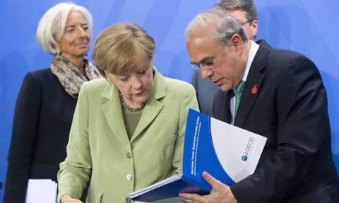 Γιατί συναντήθηκαν Μέρκελ - ΟΟΣΑ, ΔΝΤ, ILO, WTO, Παγκόσμια Τράπεζα