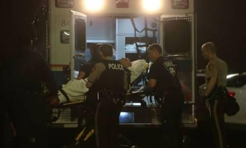 ΗΠΑ: Πυρά έξω από την αστυνομική διεύθυνση του Φέργκιουσον