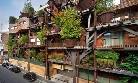 Το πιο οικολογικό κτήριο βρίσκεται στο Τορίνο (photos)