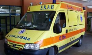 Φλώρινα: Τροχαίο με δύο νεκρούς κι έναν τραυματία