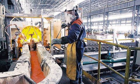 Αυξήθηκε οριακά η βιομηχανική παραγωγή τον Ιανουάριο
