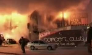 Ρωσία: 25 αγνοούμενοι -5 νεκροί από πυρκαγιά σε εμπορικό κέντρο