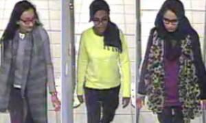 Τουρκία: Σύλληψη υπόπτου που βοήθησε 3 Βρετανίδες να πάνε στη Συρία
