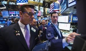 Με άνοδο μετά από δύο συνεδριάσεις έκλεισε η Wall Street
