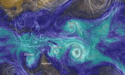 Σε κλοιό κυκλώνων το Βανουάτου