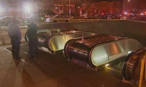 Νεκρός ένας άνδρας από τις σφαίρες αστυνομικού στο μετρό της Ουάσινγκτον