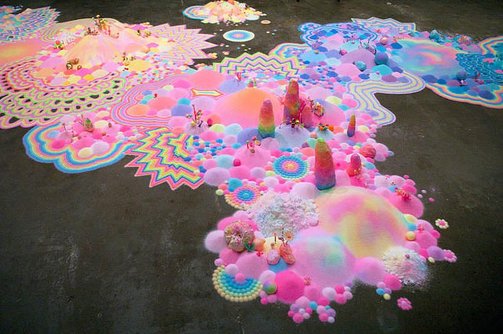 Τέχνη σε παστέλ (photos)