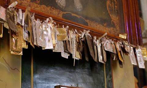 Βέροια: Έκλεψαν τάματα από την Ιερά Μονή της Παναγίας Δοβρά