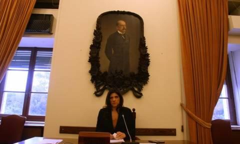 Κωνσταντοπούλου: Δεκτές μόνο οι τροπολογίες που θα είναι σύμφωνες με τον κανονισμό