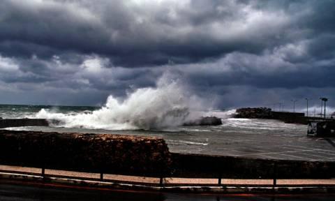 «Τσουνάμι» στην Κύμη – Η φωτογραφία που σαρώνει στο διαδίκτυο