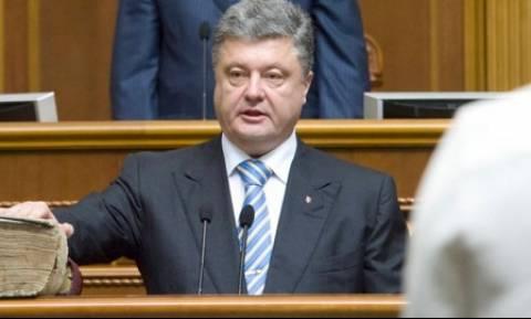 Ποροσένκο: Αποκλιμάκωση της έντασης στην ανατολική Ουκρανία