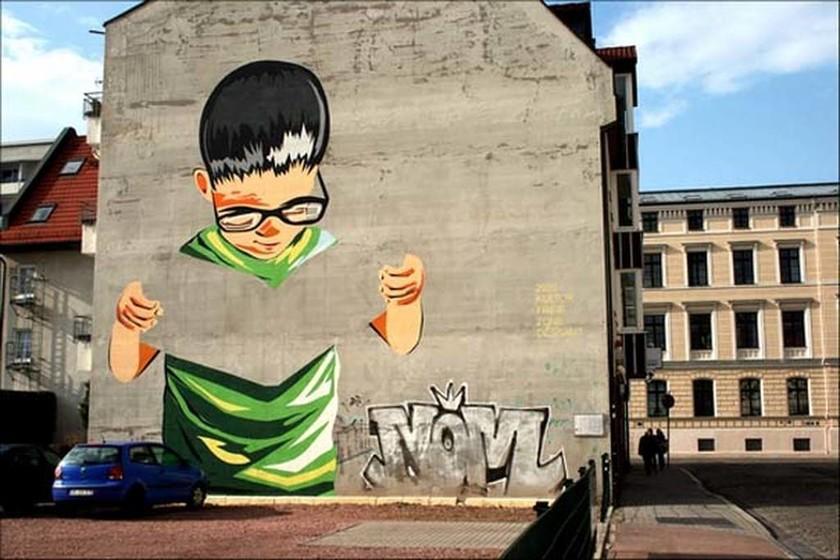 Εντυπωσιακά graffiti (Photos)