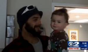 Βίντεο ντοκουμέντο με τη διάσωση του μωρού που επέζησε 14 ώρες μετά από τροχαίο