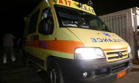 Ηράκλειο: Ένας νεκρός και ένας τραυματίας μετά από μετωπική σύγκρουση